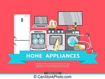 apartamento, jogo, dispositivo, venda, vetorial, lar, ícone