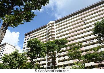 apartamento, singapur