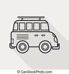 apartamento, transporte, sombra, longo, esportes, veículo, ícone, utilidade
