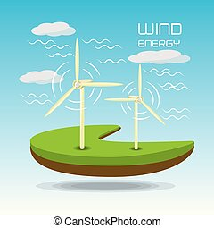 apartamento, windpower, paisagem, releated