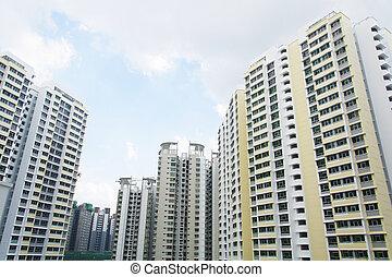 apartamentos, singapur, gobierno