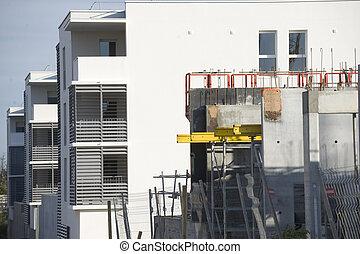 Apartment block under development