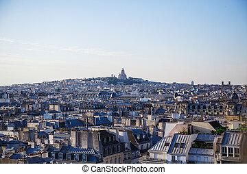 Apartment blocks in Paris