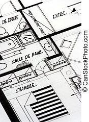Apartment blueprints