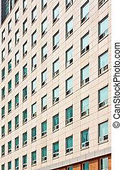 Apartment building at a university campus