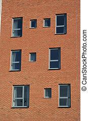 Apartment building detail
