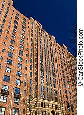 Apartment Building in Chelsea, Manhattan - New York City