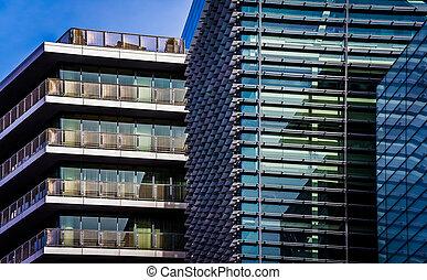 Apartment building in Washington, DC.