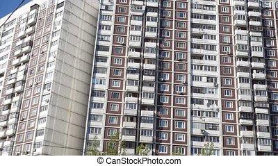 Apartment building panorama