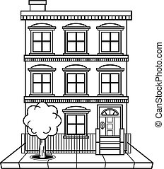 Stock Illustrationby yaistantine0 4  Apartment building vector Illustrations and Clipart 69 223