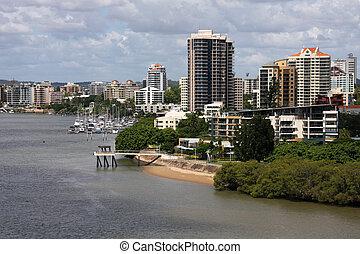Brisbane, Australia - Apartment buildings in Brisbane, ...