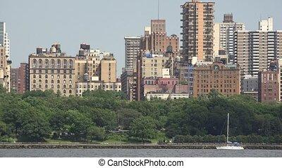 Apartment Buildings of Coastal City