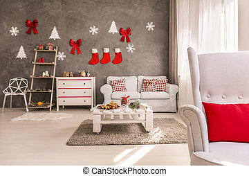 Apartment decorated for christmas - Comfortable apartment in...