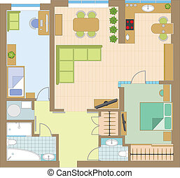 Apartment drawing