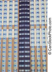 apartment house facade