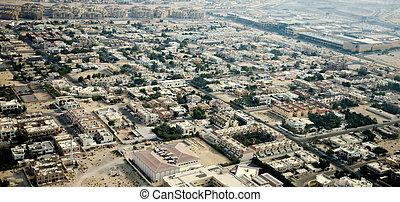 Apartment houses in Dubai city