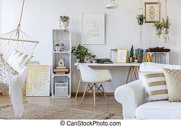 Apartment in scandinavian style - Spacious white apartment ...