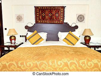 Apartment in the arabic style luxury hotel, Dubai, UAE