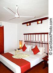 Apartment interior in the luxury hotel, Bentota, Sri Lanka