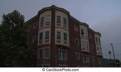 Apartment, Tilt Down - Tilt down to a vintage apartment...