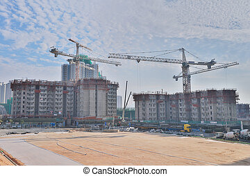 Apartment under construction of  On Tai