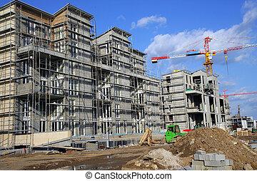Apartment under construction