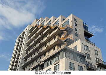 Apartment block, San Diego, California
