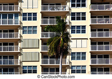 apartments pattern in KFort Lauderdale, USA