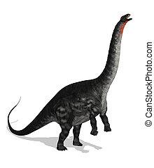 apatosaurus, 手を伸ばす