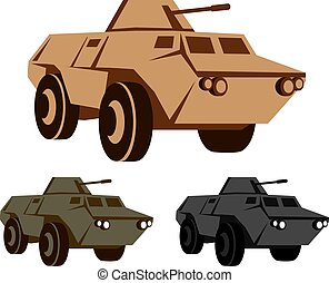 APC armored personnel carrier
