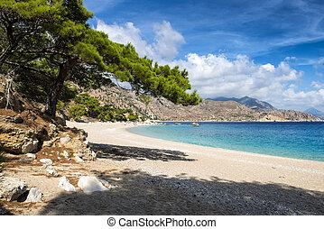Apella beach on Karpathos island, Greece - Most beautiful...