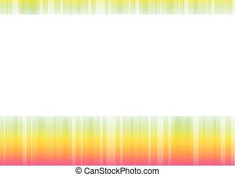 apelsin, abstrakt, gräns, blekna, bakgrund