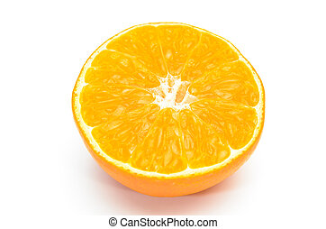 apelsin, delad, fond