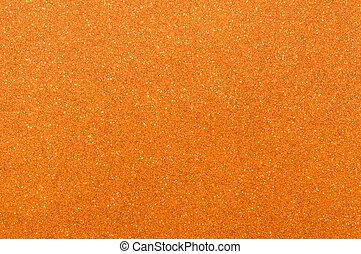 apelsin, glitter, struktur, bakgrund