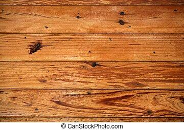 apelsin, gyllene, struktur, bakgrund, trä