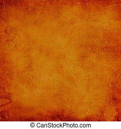 apelsin, röd fond