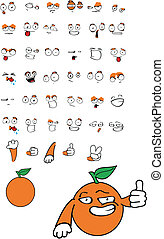 apelsin, tecknad film, se8