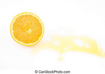 apelsinsaft, plaska