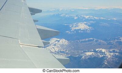 apennine, italie, montagnes, voler plus