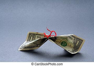 apertado, dinheiro