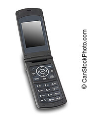 aperto, isolato, cellphone