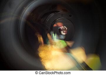 Aperture Blades Camera Lens