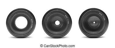 aperture - photo lens isolated on white