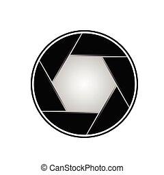 aperture vector illustration