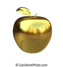 apfel, gold