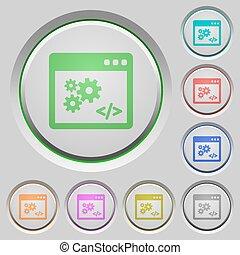 API push buttons