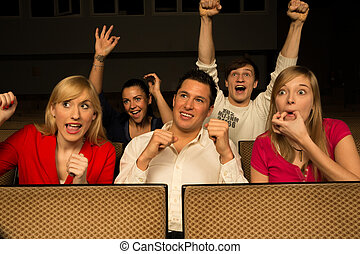 aplausos, audiencia, concierto