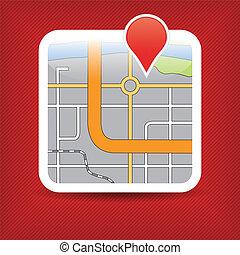 aplicação, mapa