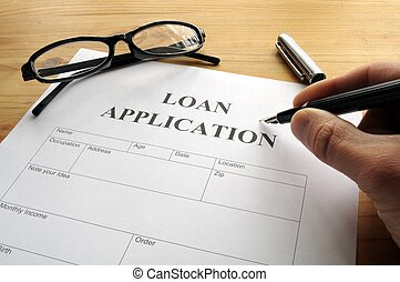 aplicación, préstamo