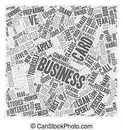 aplicar, para, un, empresa / negocio, tarjeta de crédito,...